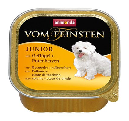 vom feinsten dog junior gevogelte kalkoenhart 150 gr. Black Bedroom Furniture Sets. Home Design Ideas
