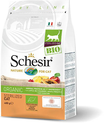 Schesir Cat Dry Bio Sterilized - 400 gr.