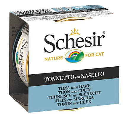 Schesir Cat Jelly Tuna & Hake - 14x85 gr.