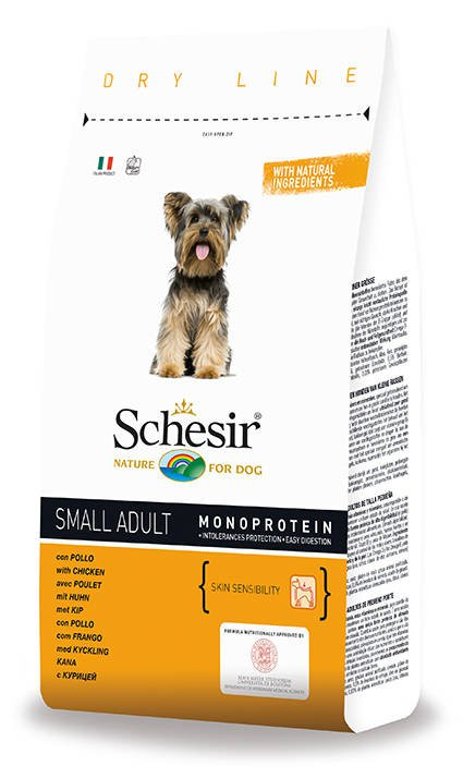 Schesir Dog Dry Small Main Chicken . - 800 gr.