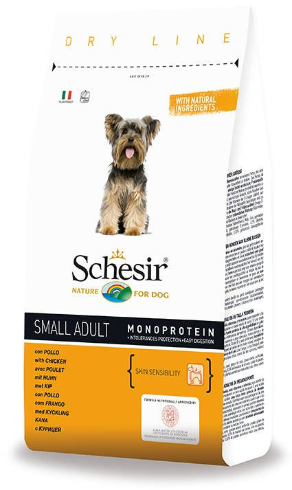 Schesir Dog Dry Small Main Chicken - 2 kg.