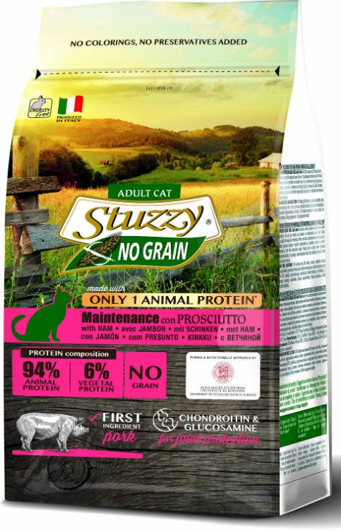 Stuzzy Cat No Grain Main Ham - 400 gr.