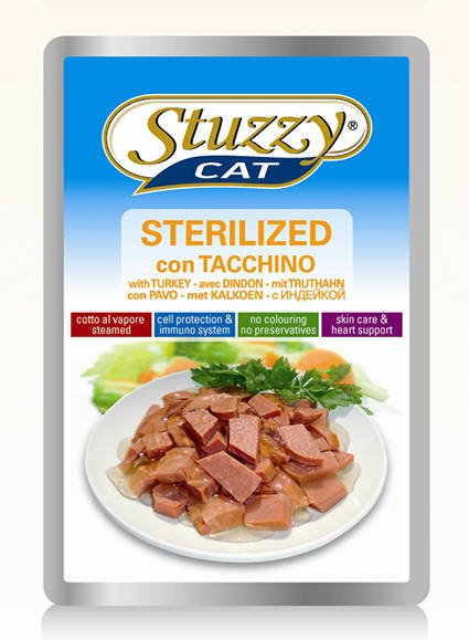 Stuzzy Cat Sterilized - 24x100 gr.