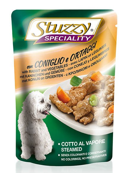 Stuzzy Speciality Dog Rabbit & Vegetables - 24x100 gr.