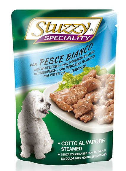 Stuzzy Speciality Dog White Fish - 24x100 gr.