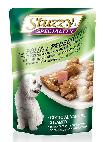 Stuzzy Speciality Dog Chicken & Ham - 24x100 gr.