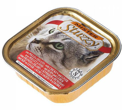 Mister Stuzzy Cat Chicken & Liver - 32x100 gr.