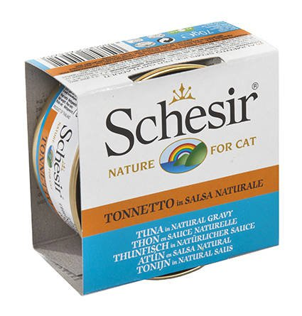 Schesir Cat Broth Natural Tuna - 14x70 gr.