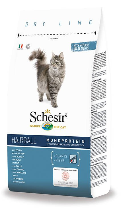 Schesir Cat Dry Persian & Long Haired - 400 gr.