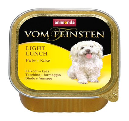 Vom Feinsten Dog Light Kalkoen+Kaas - 150 gr. (22 verp.)