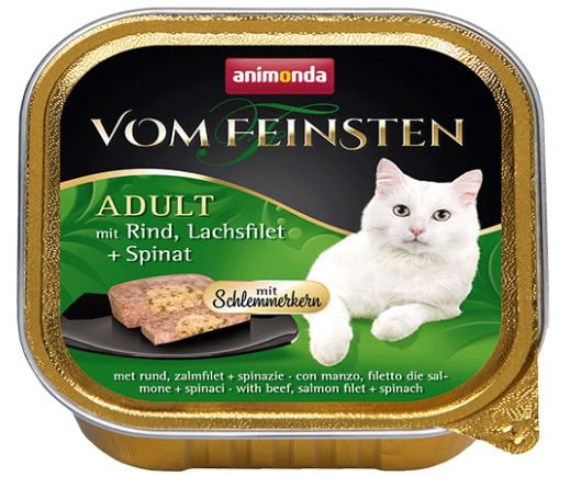 Vom Feinsten Cat No Grain Zalm - 100 gr. (32 verp.)