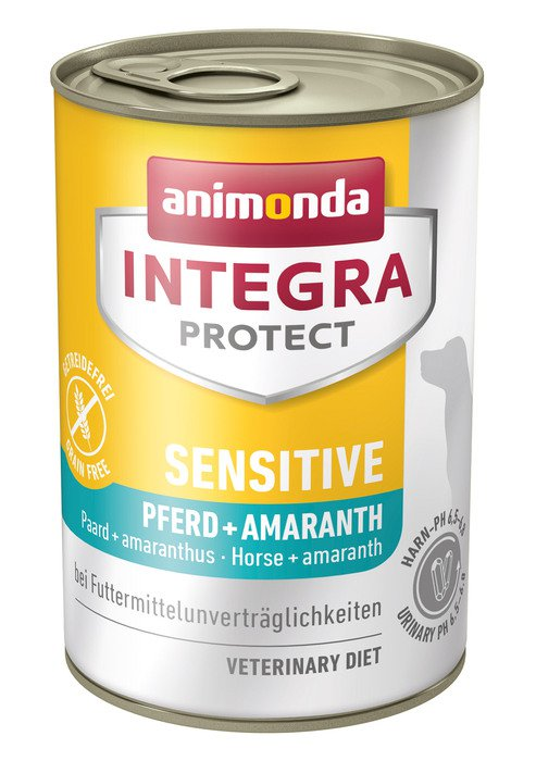 Integra Dog Sensitive Horse+Amaranth - 6x400 gr.
