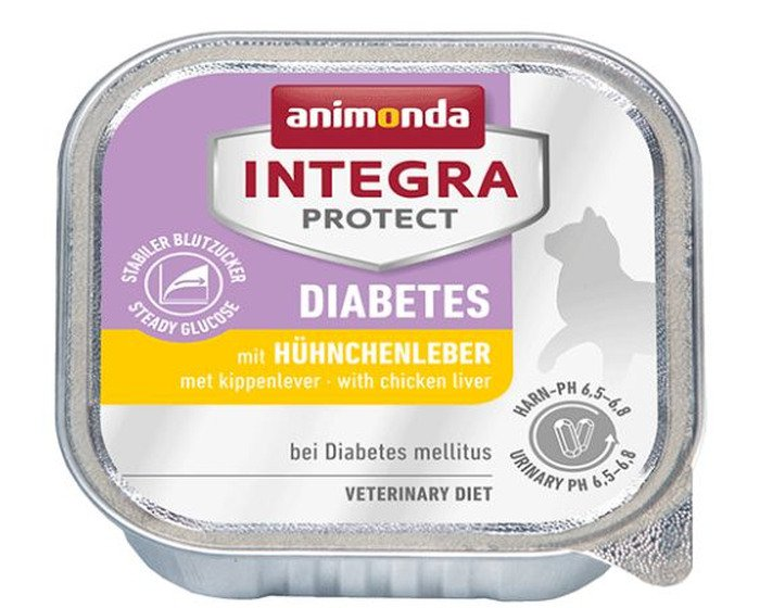 Integra Cat Diabetes Chicken Liver - 16x100 gr.