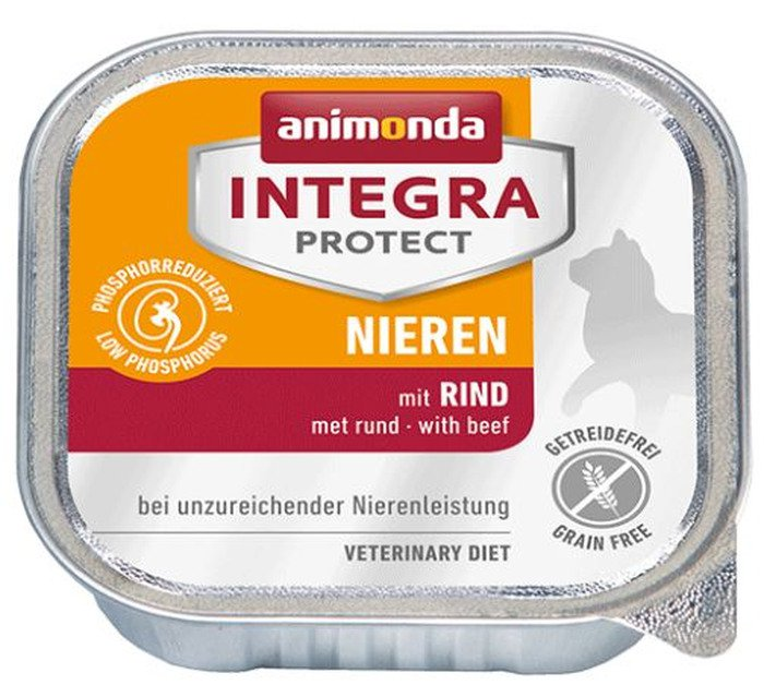 Integra Cat Nieren Rund - 16x100 gr.
