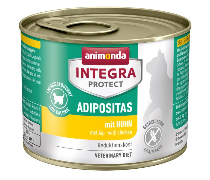 Integra Cat Adipositas Chicken - 16x100 gr.