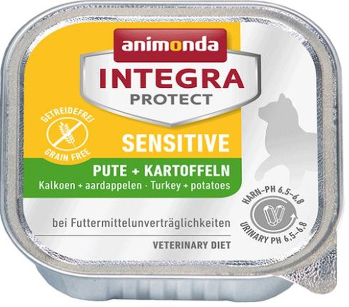 Integra Cat Sensitive Turkey+Potatoes - 16x100 gr.