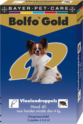 Bolfo Gold Hond 40 > 2 Pipet