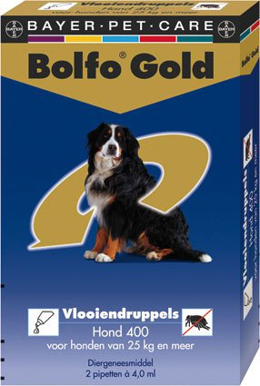 Bolfo Gold Hond 400 > 2 Pipet