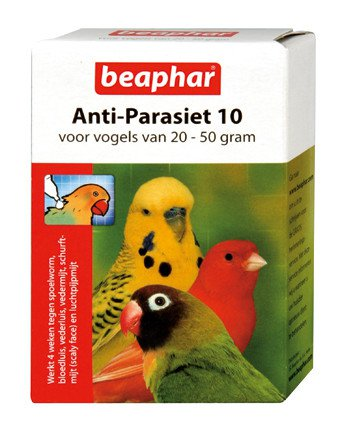 Bogena Anti Parasiet Vogels 10 - 2 pipet