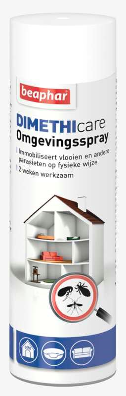 Beaphar Dimethicare Omgevingspray - 400 ml.