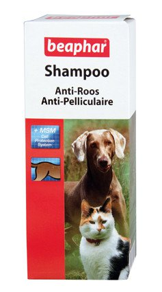 Beaphar Shampoo Anti Roos - 200 ml.
