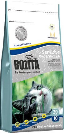Bozita Feline Sensitive Diet & Stomach - 2 kg.