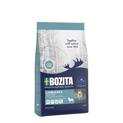 Bozita Lamb & Rice Wheat Free - 3,5 kg.