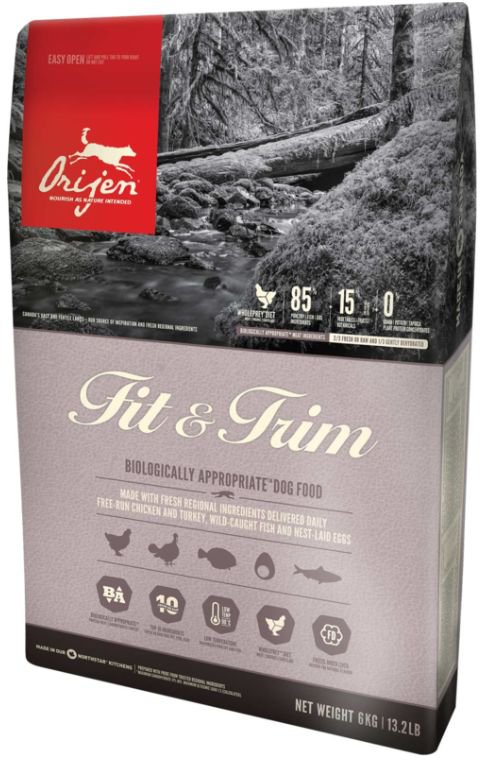 Orijen Fit & Trim Dog  - 2 kg.