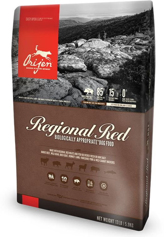 Orijen Regional Red Dog  - 11,4 kg.