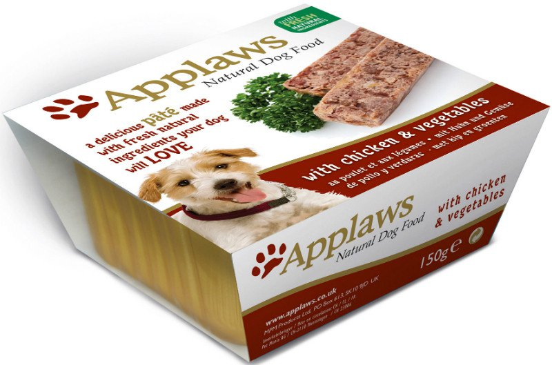 Applaws Dog Paté Chicken with vegetables - 150 gr. (7 verp.)