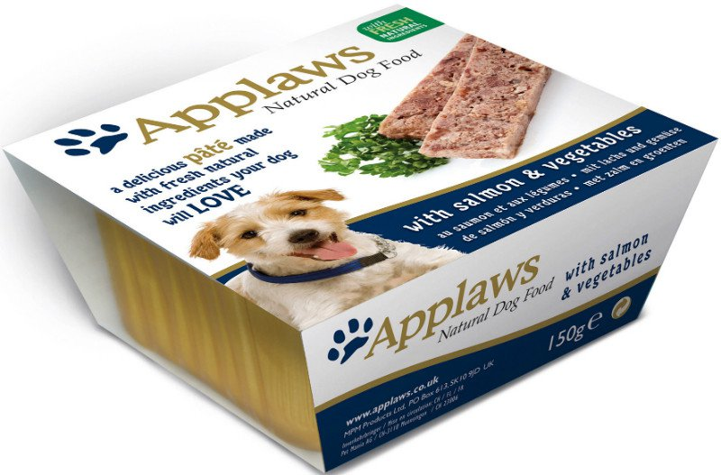 Applaws Dog Paté Salmon with vegetables - 150 gr. (7 verp.)