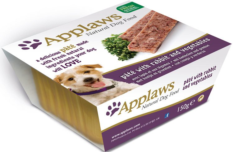 Applaws Dog Pate Rabbit & Vegetables - 7x150 gr.