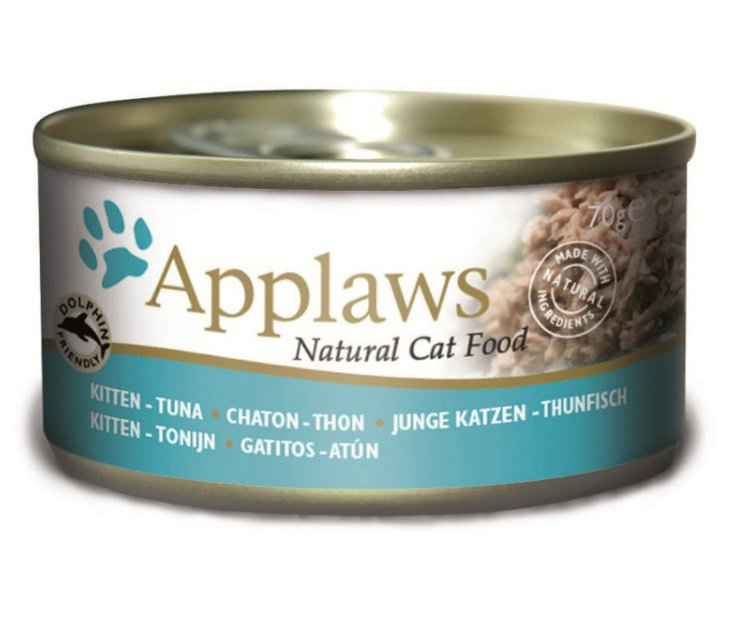 Applaws blik cat Kitten Tuna - 70 gr. (24 verp.)