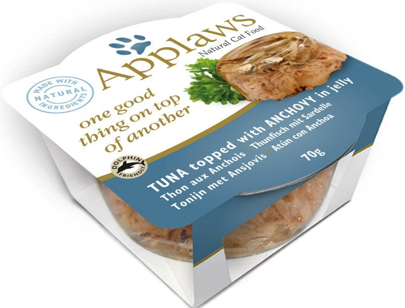 Applaws layer Pots Tuna with Anchovy - 70 gr. (12 verp.)