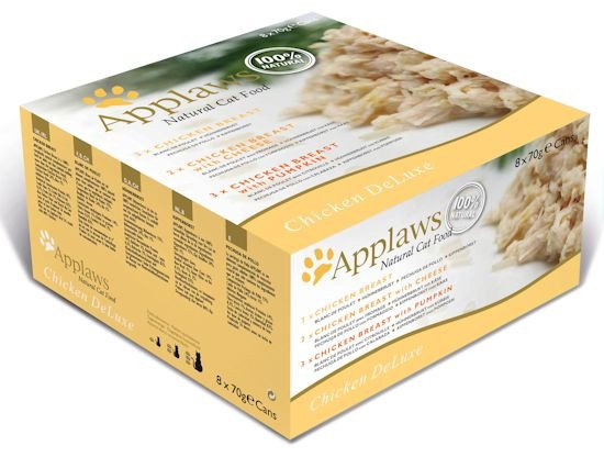 Applaws blik cat MP Chicken Selection - 12x70 gr.