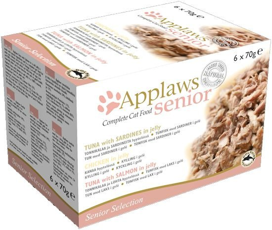 Applaws blik cat MP Senior - 6x70 gr. (4 verp.)