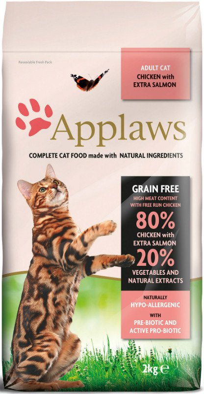 Applaws Chicken & Salmon Adult Brokjes - 7,5 kg.