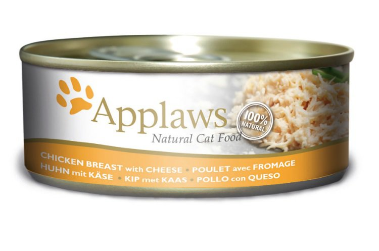 Applaws blik cat Chicken Breast & Cheese - 156 gr. (24 verp.)