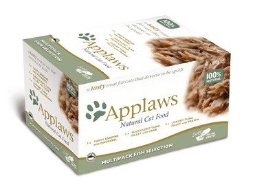 Applaws Cat Pots Multi Pack Fish - 8x60 gr.