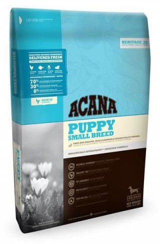 Acana Heritage Puppy Small Breed - 6 kg.