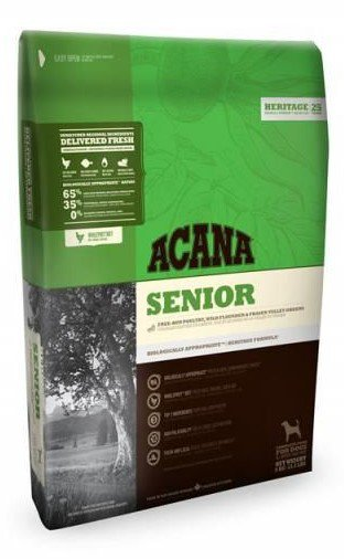 Acana Heritage Senior Dog   - 11,4 kg.