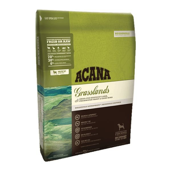 Acana Regionals Grasslands Dog - 11,4 kg.