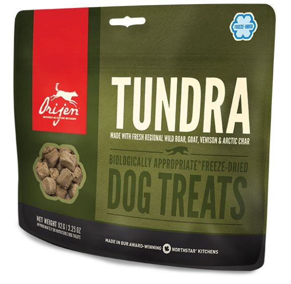 Orijen Treats Dog Tundra  - 92 gr.