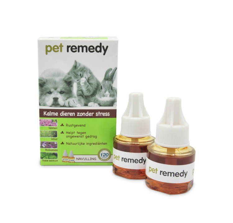 Exil Pet Remedy Navulling - 2x40 ml.