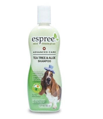 ESPREE Tea tree & aloe shampoo - 355 ml.