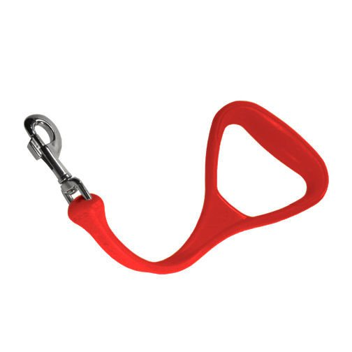 The Perfect Leash - Heeler Rood Elastische Looplijn - 34 cm
