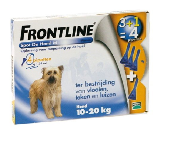 Frontline spot on dog M 4 Pipet