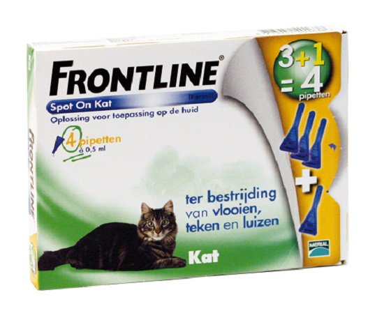 Frontline spot on kat 4 Pipet