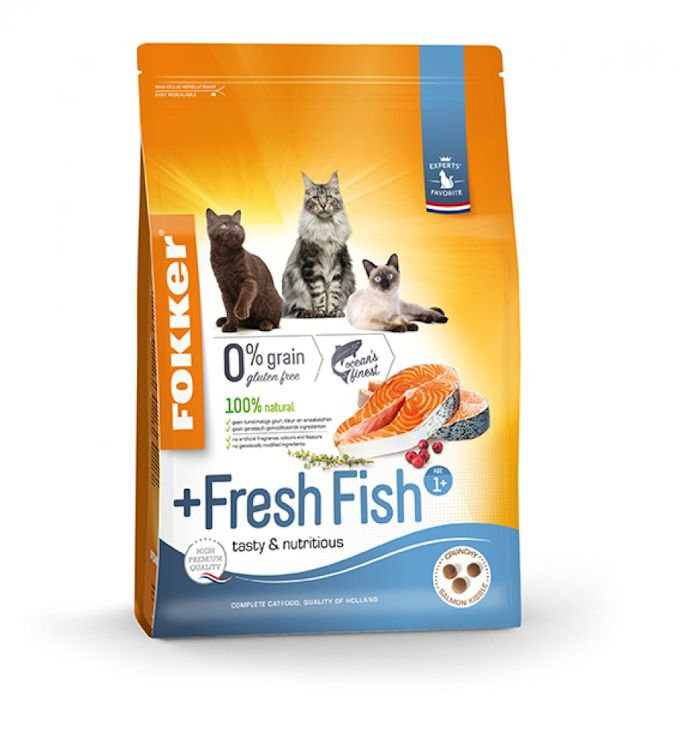 Fokker Cat Fresh Fish - 7 kg.