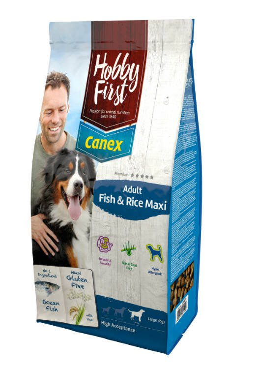 HobbyFirst Canex Adult Fish & Rice Maxi - 12 kg.